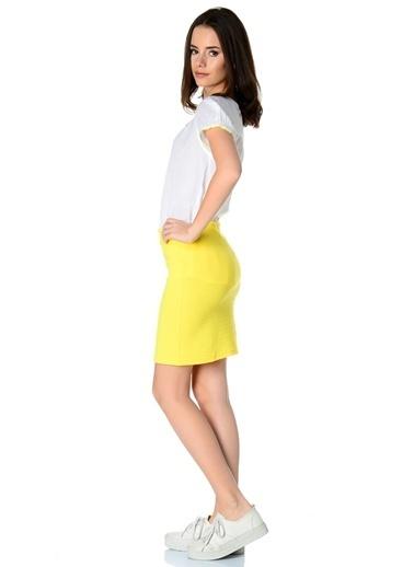 Limon Company Mini Etek Sarı